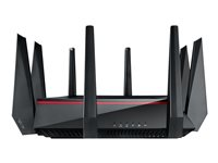 ASUS RT-AC5300 - Wireless router - 4-port switch - GigE - 802.11a/b/g/n/ac - Dual Band RT-AC5300