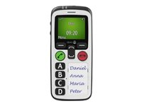 Doro Secure 580 - Mobile phone - 3G - GSM - 128 x 160 pixels - white 6515
